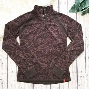THE NORTH FACE wool blend pullover women's medium